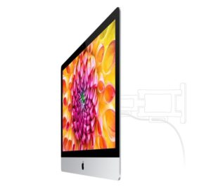 iMac mit VESA Adapter