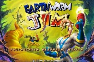 Earthworm Jim - Startbildschirm iPhone