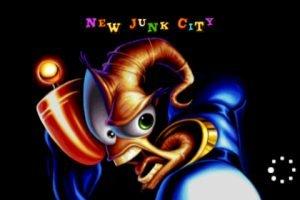 Earthworm Jim: New Junk City Splash-Screen