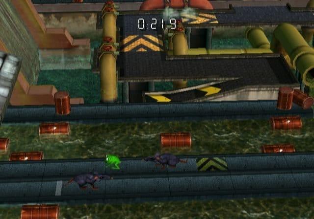 Frogger Returns: Download via WiiWare und PSN