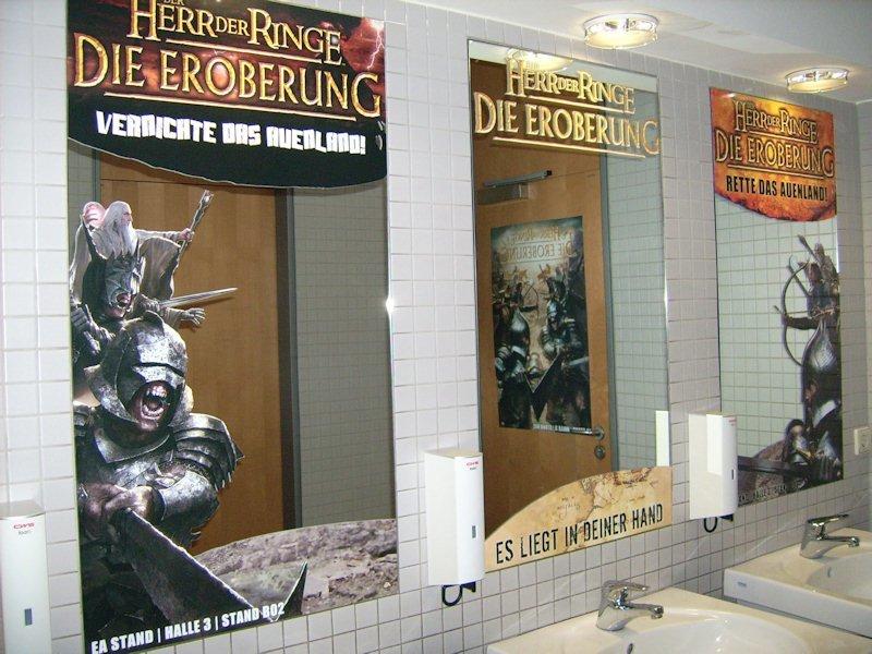 Games Convention 2008: Der Herr der Ringe beherrscht das Klo