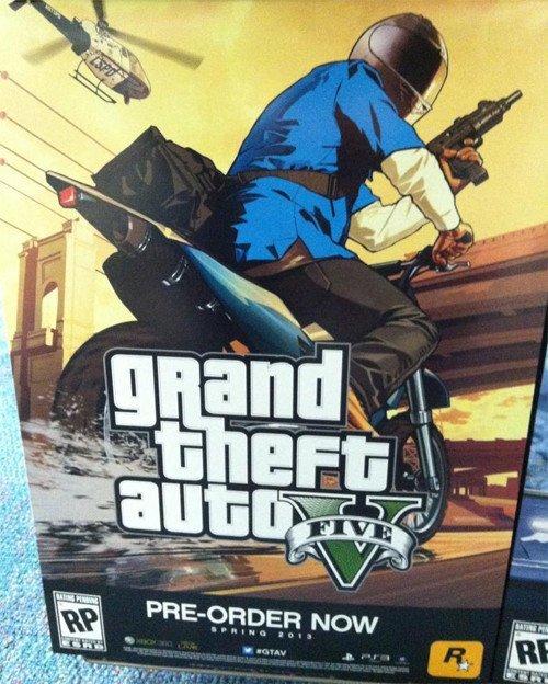 Foto von Pre-Order-Box von Grand Theft Auto 5
