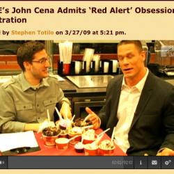 WWE Wrestler John Cena spielt C&C