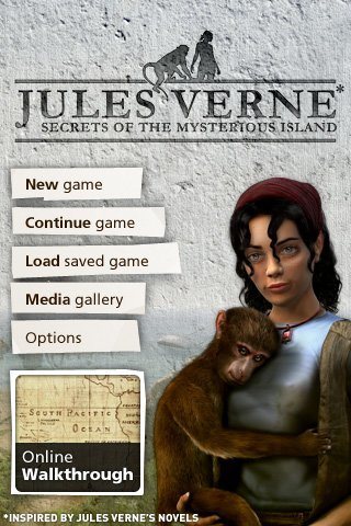 Jules Vernes: Secrets of the Mysterious Island