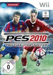 PES 2010 - Packshot Wii