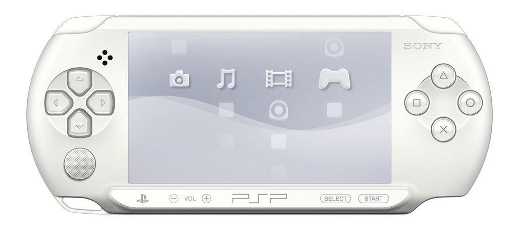 PSP e1000 in Ice-White