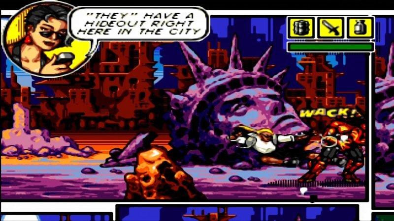 SEGA Mega Drive Ultimate Collection: Comix Zone