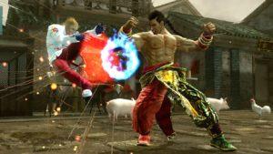 Tekken 6 - Feng Wei donnert Steve Fox eine