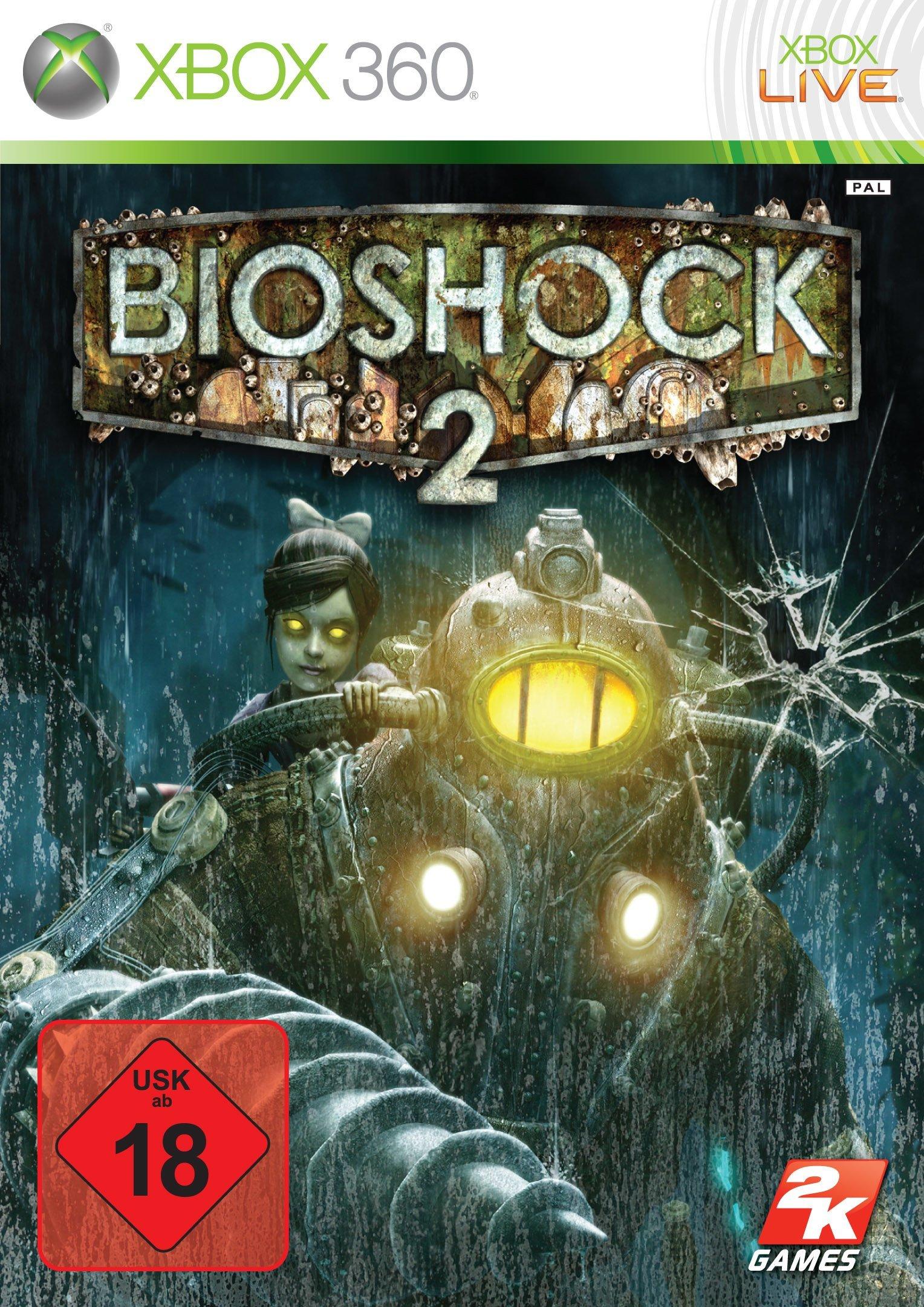 Bioshock 2 - Packshot Xbox 360