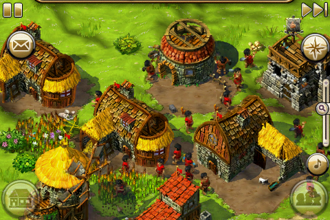 Die Siedler – iPhone-Screenshot