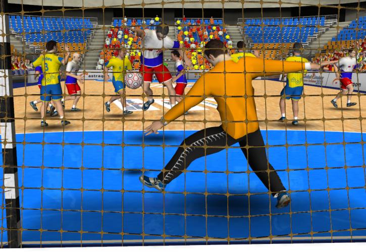 Handball-Simulator 2010 – European Tournament