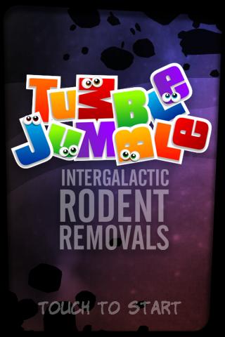 Tumble Jumble – Startbildschirm