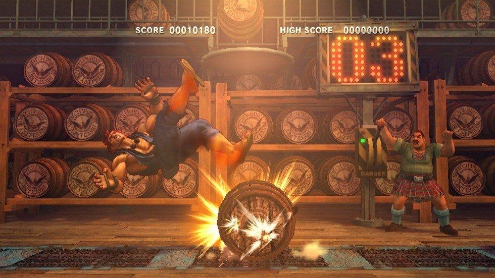 Super Street Fighter 4 - Bonus Stage