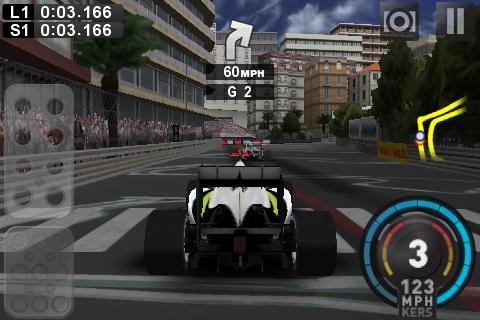 F1 2009 – iPhone-Screenshot
