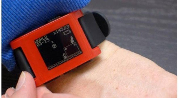 Super-Mario-Theme für Pebble Smartwatch