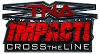 TNA iMPACT: Cross the Line – Logo