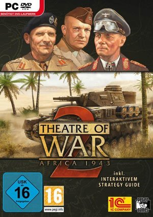 Theatre of War 2: Africa 1943 - Packshot PC