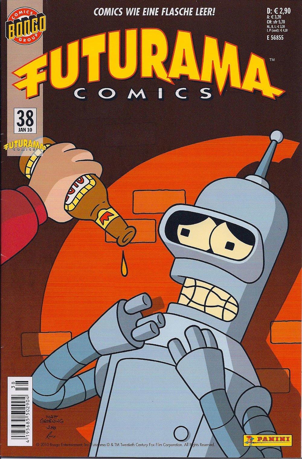 Futurama Comics #38