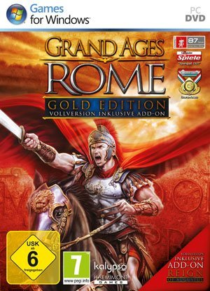 Grand Ages Rome: Gold Editon – Packshot