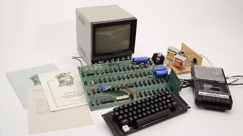 Apple-1, Foto: Auction Team Breker