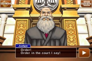 Phoenix Wright: Ace Attorney Trilogy HD - Richter Hor