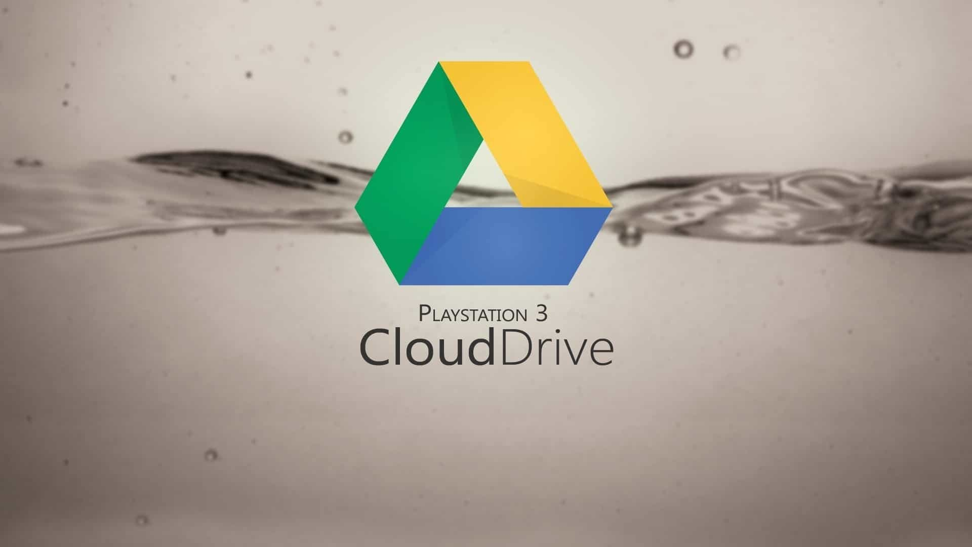 PS3 Cloud Drive