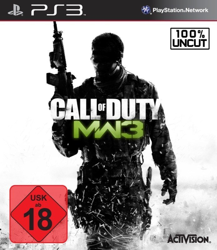 Call of Duty: Modern Warfare 3 - Packshot PS3