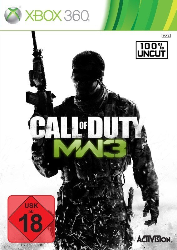 Call of Duty: Modern Warfare 3 - Cover Xbox 360