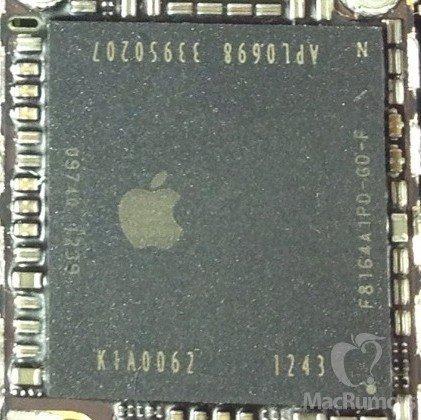 Foto von iPhone-5S-A7-CPU geleakt