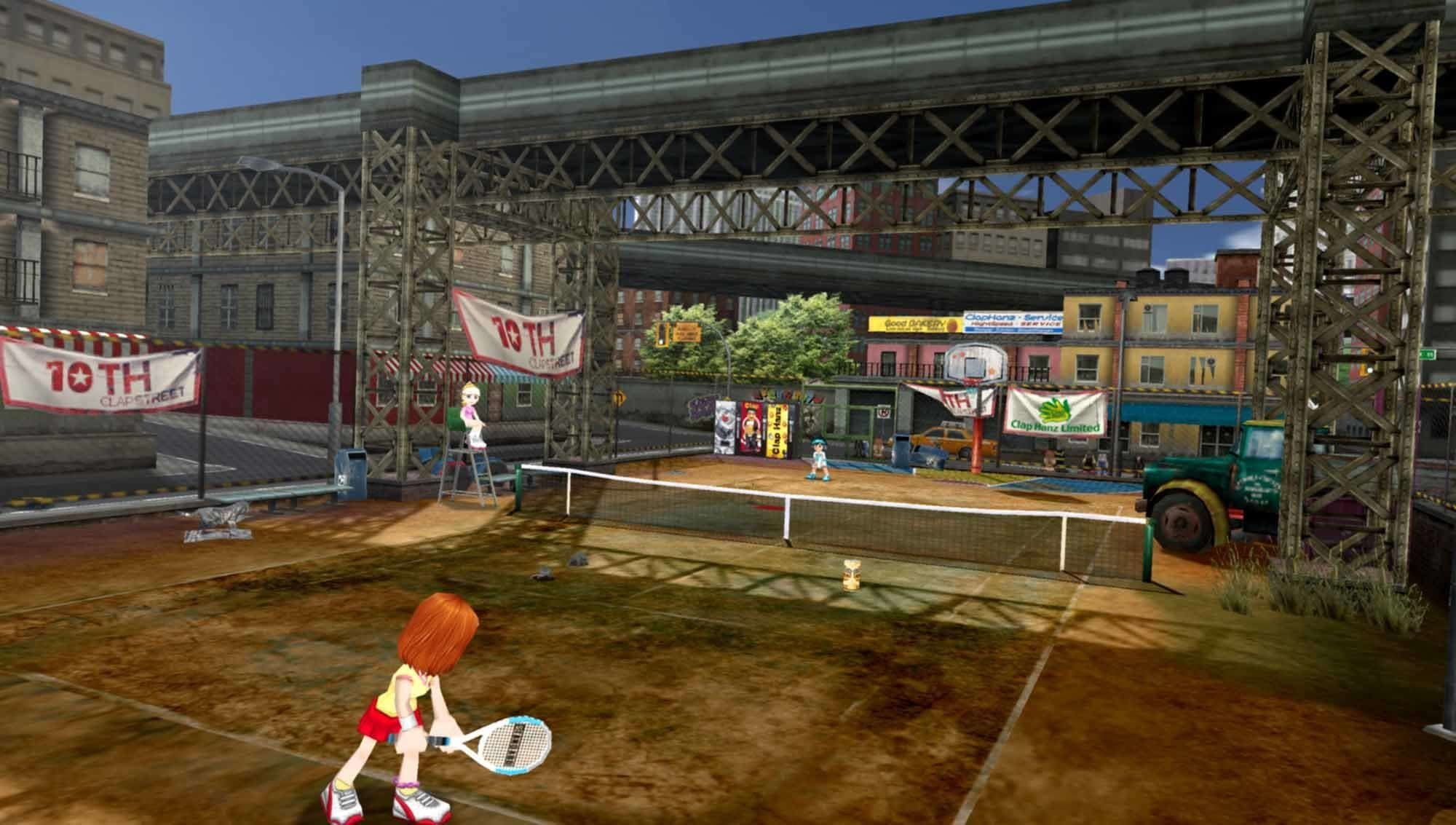 Everybody's Tennis - Screenshot Straßen-Tennis