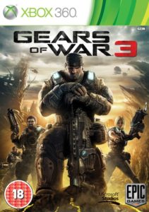 Gears of War 3 - Cover Xbox 360