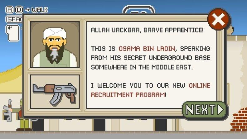 Mujahedin - Flashgame - Screenshot