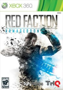 Red Faction: Armageddon - Xbox 360 Cover
