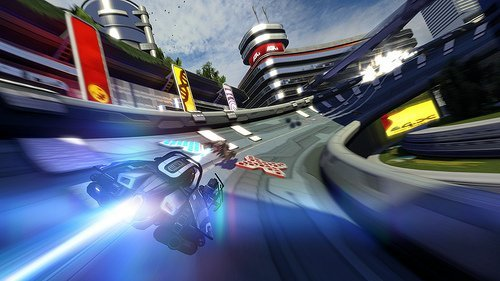 WipEout HD Fury – Screenshot