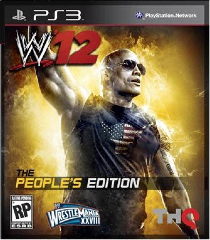 WWE 12 - People's Edition Cover Dwayne Johnson