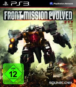 Front Mission Evolved - Cover PS3