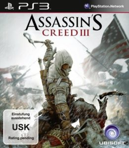 Assassin's Creed 3 - Cover PS3