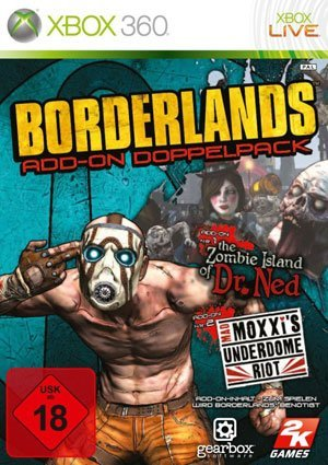 Borderlands: Add-on Doppelpack – Packshot Xbox 360
