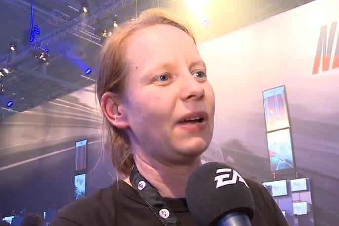 Carola Berens im Interview zu Need for Speed Rivals auf der GamesCom 2013