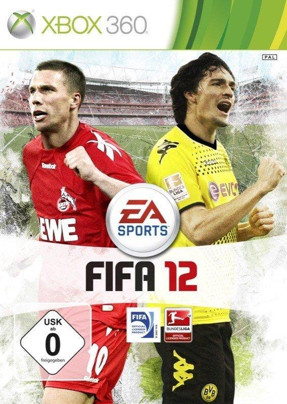 FIFA 12 - Cover Xbox 360
