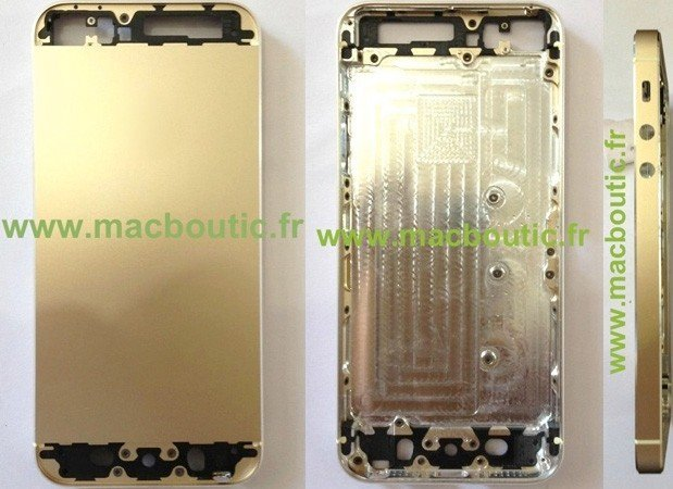iPhone 5S - Chassis in Gold, Foto: Macboutic.fr