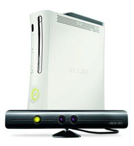 Kinect-Sensor mit Xbox 360