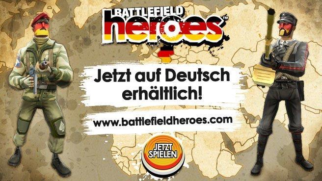 Battlefield Heroes – Deutschlandstart