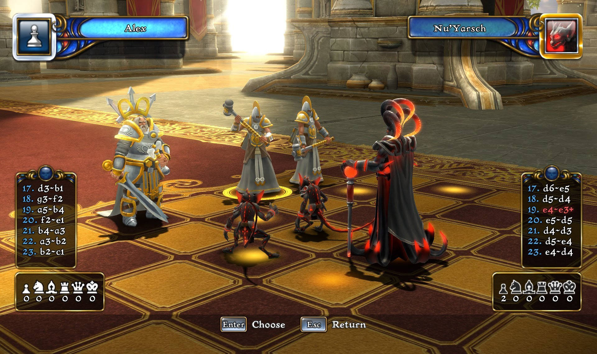 Battle vs. Chess - Screenshot