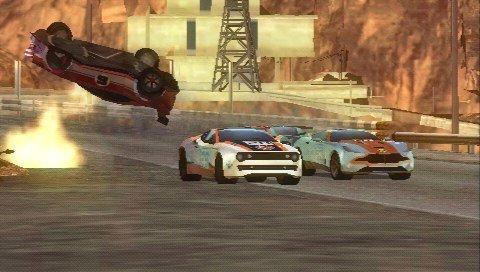 Split/Second: Velocity – Screenshot PSP