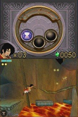 Prince of Persia: Die vergessene Zeit – Screenshot NDS
