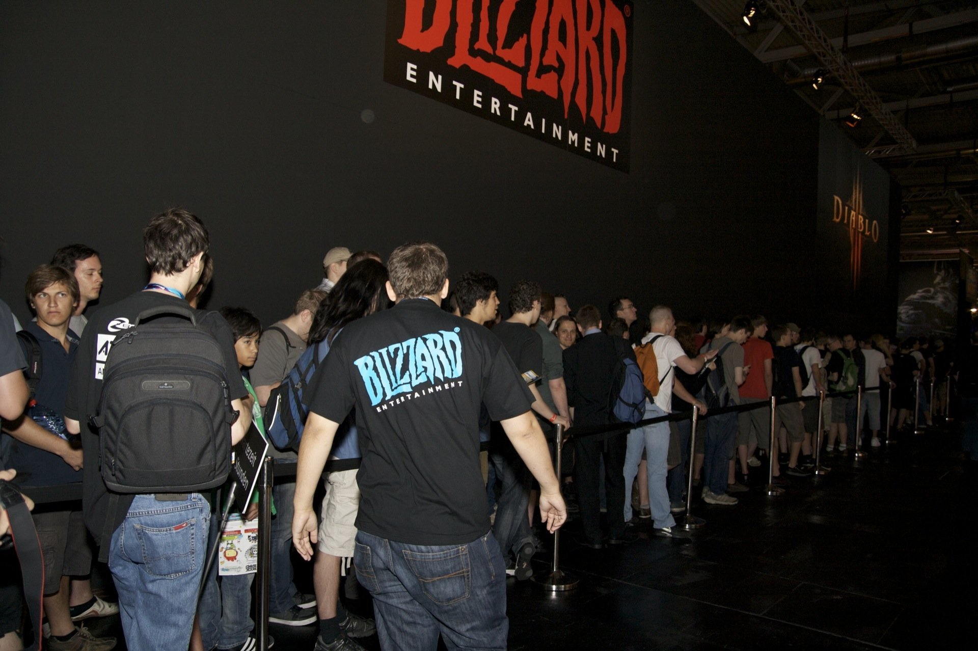 Blizzard-Stand auf Gamescom 2009, Foto: Frederic Schneider