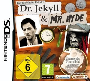 Der rätselhafte Fall des Dr. Jekyll & Mr. Hyde – Cover NDS