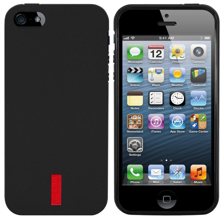 mumbi TPU Silikon-Schutzhülle für iPhone 5 und iPhone 5s