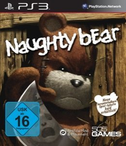 Naughty Bear – Cover PS3